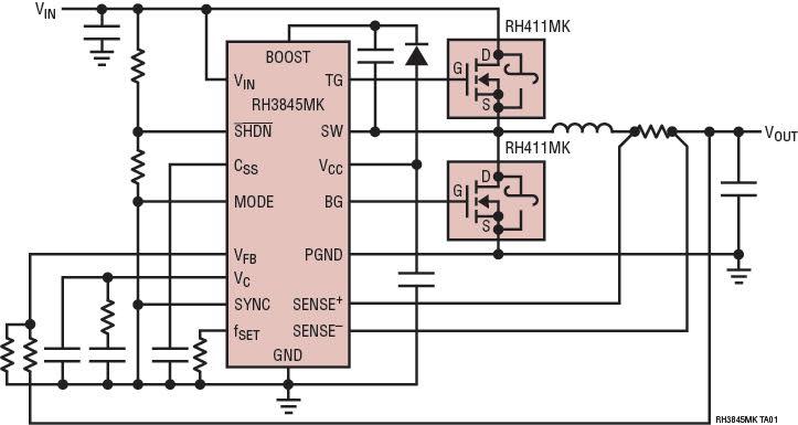 msk5055rh是rh3845mkdice – 具有可调工作频率的抗